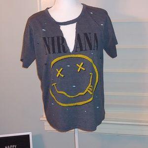 Custom made Nirvana t-shirt sz M/L